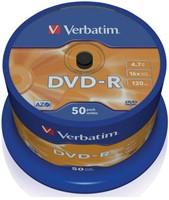 DVD-R Verbatim 4,7GB 16X spindel 50stuks-2