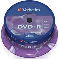 DVD+R Verbatim 4,7GB 16X spindel 25stuks-2
