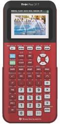 Rekenmachine TI-84 Plus CE-T rood