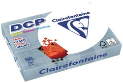 Laserpapier Clairefontaine DCP A4 190gr wit 250vel