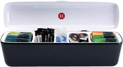Tafelstandaard Douwe Egberts Business Line antraciet/wit