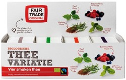 Thee Fair Trade Original variatie 4x25zakjes 2gr