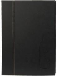 Wijnkaart Securit Trendy A4 2 x 2 tassen zwart