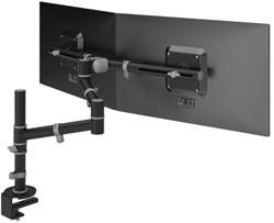 monitorarm Dataflex Viewgo 133 met bureauklem zwart