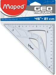 Geodriehoek Maped 45gr 21cm