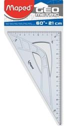 Geodriehoek Maped 60gr 21cm