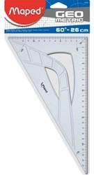 Geodriehoek Maped 60gr 26cm