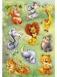 Etiket Herma 3248 Magic dieren in de jungle popup