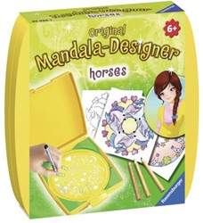 Mandala designer Ravensburger paarden