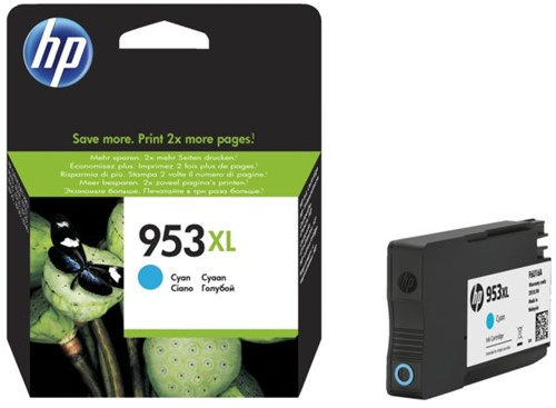 Inktcartridge HP F6U16AE 953XL  blauw HC