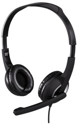 Headset Hama HS300 On Ear zwart