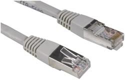 Kabel Hama CAT5e STP 500cm grijs bulkverpakking