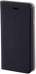 Hoes Hama Booklet Slim voor iPhone 6 Plus donkerblauw