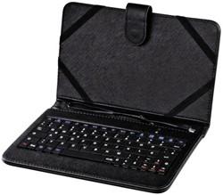 "Tablethoes Hama met keybord 7"" zwart"