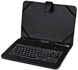 "Tablethoes Hama met keybord 10.1"" zwart"