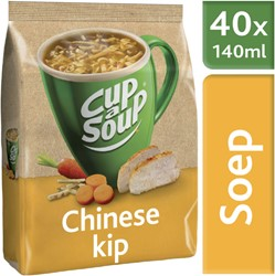 Cup-a-soup machinezak Chinese kip met 40 porties