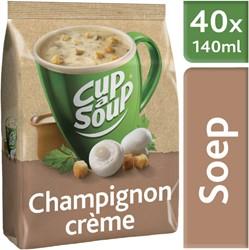 Cup-a-soup tbv dispenser champignon creme zak met 40 porties