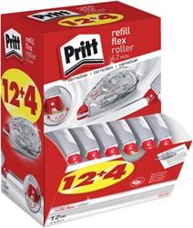 Correctieroller Pritt navulbaar Flex 4.2mm 12+4 gratis
