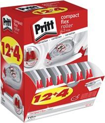 Correctieroller Pritt Compact Flex 4.2mm 12+4 gratis