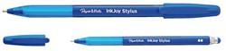 Balpen Paper Mate Inkjoy 100Cap stylus doos 12stuks blauw