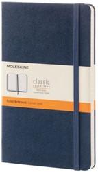 Notitieboek Moleskine large 210X130mm gelinieerd blauw
