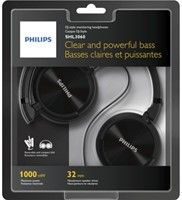 Headset Philips on ear SHL3060BK zwart-2