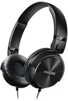 Headset Philips on ear SHL3060BK zwart-1