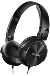 Headset Philips on ear SHL3060BK zwart