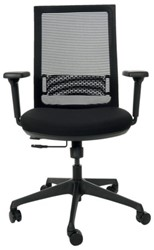 Bureaustoel Quantore medium zwart