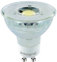 Ledlamp Integral GU10 5,8W 2700K koel wit licht dimbaar