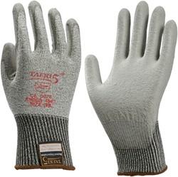 Handschoen snijbestendig Teaki 5 PU grijs large