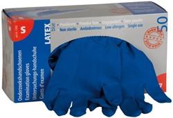 Handschoen huishoud high risk blauw large