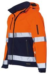 Veiligheidsjack Tricorp fluor oranje/blauw