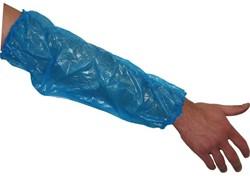 Mouwbeschermers LDPE blauw