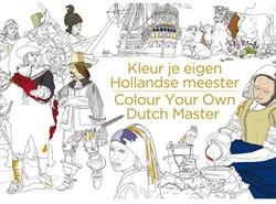 Kleurboek voor volwassenen kleur je eigen Hollandse meester