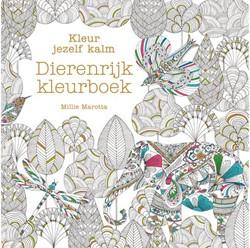 Kleurboek voor volwassenen kleur je zelf kalm dierenrijk