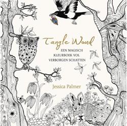 Kleurboek voor volwassenen Tangle woud