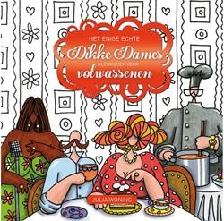 Kleurboek voor volwassenen dikke dames