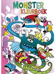 Kleurboek monster