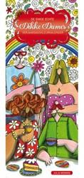 Kleurboek kalender volwassene enige echte dikke dames