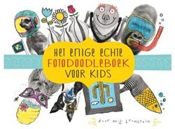 Kleurboek enige echte foto-doodleboek voor kids