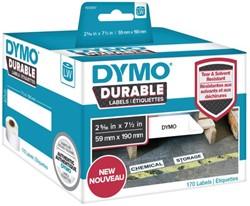 Etiket Dymo 1933087 labelwriter 59x190mm 170 stuks