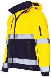 Veiligheidsjack Tricorp fluor geel/blauw