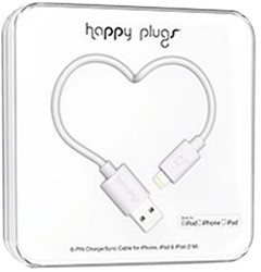 Kabel Hama Happy Plugs USB Lightning 200cm wit