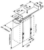 CPU houder Newstar D050 zilver-2