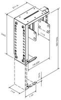 CPU houder Newstar D100 30kg zilver-3