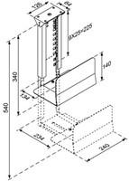 CPU houder Newstar D200 30kg zilver-3