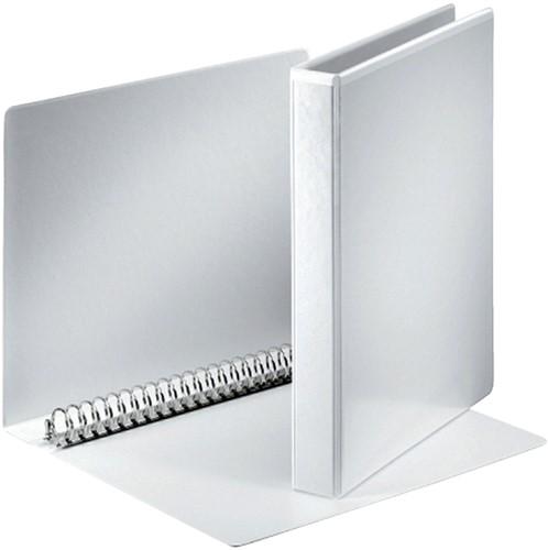 Presentatieringband Esselte A4 23-rings O-mech 20mm wit