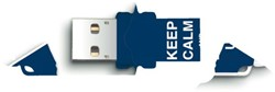 USB-Stick 2.0 Integral FD Xpression 8GB Keep Calm
