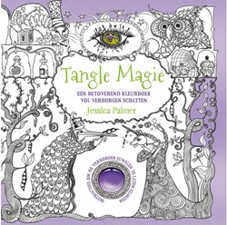 Kleurboek volwassenen Palmer Tangle magie